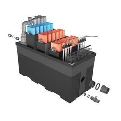 PONDTECH Bio filter 190 комплект фильтрации с уф для пруда до 450.000 литров