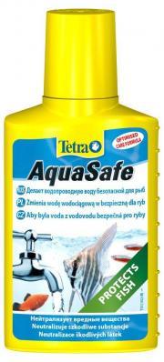 TETRA AquaSafe 250мл, кондиционер для подготовки воды на объем 500л