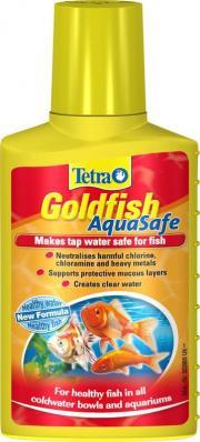 TETRA AquaSafe Goldfish 100мл, кондиционер для золотых рыб на объем 200л