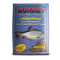 Прикормка Дунаев Классика гранулы Плотва 0.9 кг