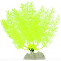 Растение флуоресцирующее GloFish желтое S 13 см