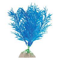 Растение флуоресцирующее GloFish синее М 15 см