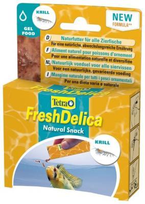 Tetra Fresh Delica Krill(желе криль), 48 г. Новинка
