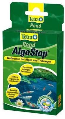TetraPond AlgoStop 10 капсул - средство для борьбы с водорослями