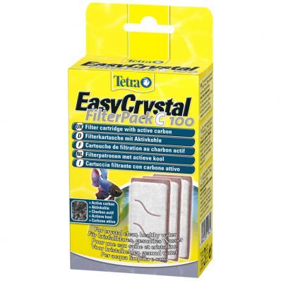 Картридж для фильтра Tetratec EasyCrystalFilterPack C 100 для Cascade Globe 6,8л с углем