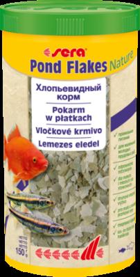 Корм для прудовых рыб SERA POND FLAKES 1 л (180 г)
