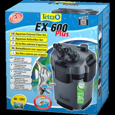 Внешний фильтр Tetratec ЕХ600 PLUS 600л/ч до 120л