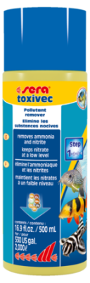 Средство для воды SERA Toxivec 500 мл