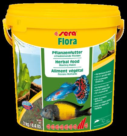 Корм для рыб SERA Flora 10.000 мл (2 кг)