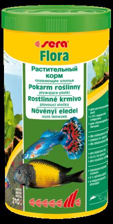 Корм для рыб SERA Flora 1000 мл (210 г)