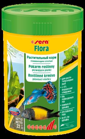 Корм для рыб SERA Flora 100 мл (22 г)
