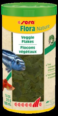 Корм для рыб SERA Flora Nature 1000 мл (210 г)