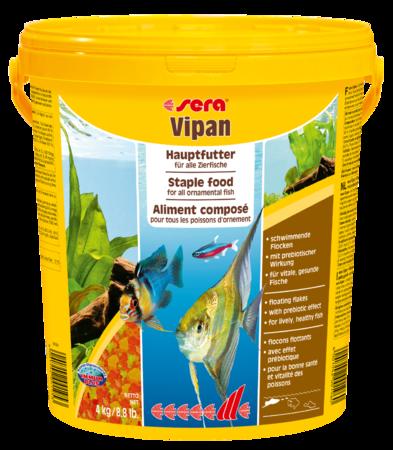 Корм для рыб SERA Vipan 4 кг (ведро)