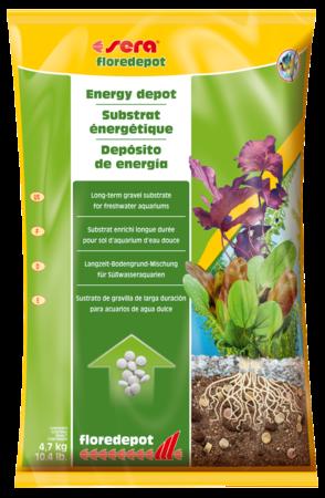 Грунт для растений SERA Floredepot 4,7 кг (пакет)
